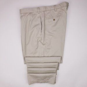 Polo Ralph Lauren Chinos 42x36 Tall Beige Pleated